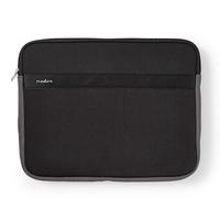 Nedis Notebook Sleeve, 13 - 14', Neoprene, Black / Anthracite Laptoptas