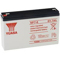 Yuasa NP7-6 UPS batterij - Wit