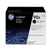 HP 90X 2-pack High Yield Black Original LaserJetCartridges Toner  - Zwart