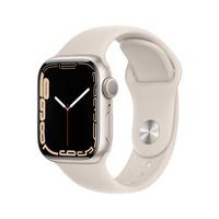 Apple Watch Series 7 (2021) GPS 41mm Starlight Smartwatch