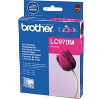 Brother LC-970MBP Blister Pack Inktcartridge - Magenta