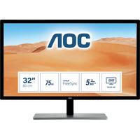 AOC 79 Series 31.5 inch 2560x1440@75hz 5 ms IPS HDMI 1.4 x 1, VGA, DisplayPort 1.2 x 1, DVI Dual-linkFreeSync .....