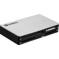 Sandberg USB 3.0 Multi Card Reader Lecteur de carte mémoire - Noir,Argent