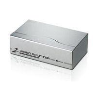ATEN 2-poorts VGA-splitser (350MHz) Videosplitter - Zilver