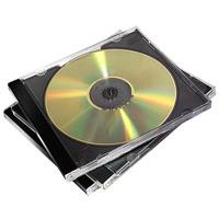 Fellowes 5x CD Jewel Cases Double - Noir,Transparent