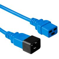 ACT C19 - C20, 3.00m Electriciteitssnoer - Blauw