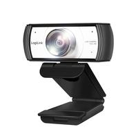 LogiLink Full HD, 30 fps, f/2.4, 120°, USB, 1.6 m, 86 x 72 x 53 mm, 150 g Webcam - Noir,Argent