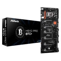 Asrock H510 Pro BTC+ Moederbord