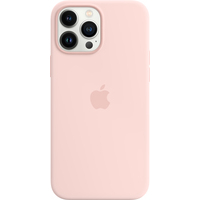 Apple Coque en silicone avec MagSafe pour iPhone 13 Pro Max - Rose craie