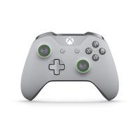 Microsoft Xbox Wireless Controller – Grey/Green Contrôleur de jeu - Vert,Gris