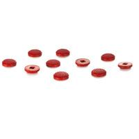 Lenovo Low Profile TrackPoint Cap Set, Red, 10 pcs Accessoire d'ordinateur portable - Rouge