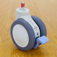Ergotron SV 3-Function Caster Accessoires panier multimédia - Gris, Blanc