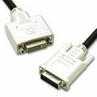 C2G 2m DVI-I M/F Dual Link Cable - Zwart