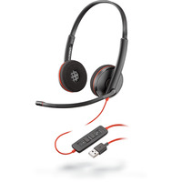 POLY Blackwire C3220 Headset - Zwart
