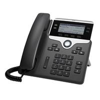 Cisco 7841 Téléphone IP - Noir, Argent