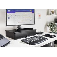 Kensington UVStand™ Monitor Stand met UVC Sanitization Compartment Monitorarm - Zwart