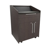 "Middle Atlantic Products L5 Series Preconfigured Lectern, 33"" W x 31"" D x 39"" H, Asian Night - ....."
