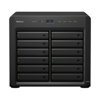"Synology DiskStation DS3617xs, Xeon D-1527, 2.2 GHz, 2x 8 GB DDR4 ECC SO-DIMM, 12x 3.5""/2.5"" SATA HDD/SSD, 2x ....."