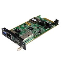 StarTech.com Gigabit ethernet glasvezel mediaconverterkaartmodule met open SFP-sleuf Netwerk media .....