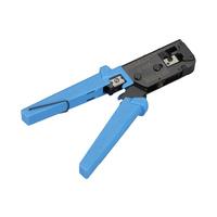 Black Box EZ-RJ45 Crimp Tool Krimp-, knip- en striptang voor kabels - Blauw