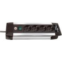 Brennenstuhl Premium-Alu-Line Protecteur tension - Noir