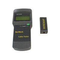 Microconnect LCD Cable Tester Cable network tester - Zwart