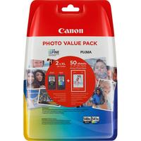 Canon PG-540XL/CL541XL Inktcartridge - Zwart, Cyaan, Geel, Magenta