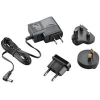 POLY AC Adapter Fiche secteur / adaptateur - Noir