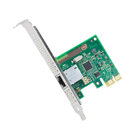 Intel Ethernet Server Adapter I210-T1 - 2.5 GT/s, x1 Lane, RJ45, 1 W Carte de réseaux