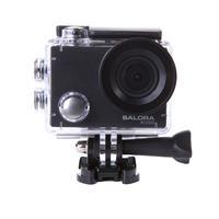 Salora Caméra d'Action Full HD robuste et à prix favorable avec WiFi Sports d'action caméra - Noir