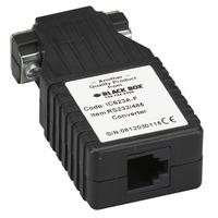 Black Box Async RS-232/V.24-RS-485 Interface Converters Seriële coverters/repeaters/isolatoren - Zwart