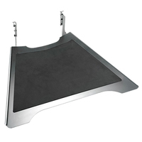 Chief FUSION Small Height-Adjustable Accessory Shelf - Noir,Argent