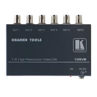 Kramer Electronics Kramer 105VB Distr. Versterker Video-lijnaccessoires - Zwart