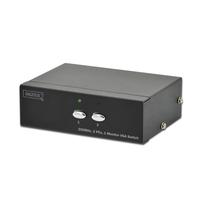 Digitus VGA selector Commutateur vidéo - Noir