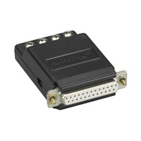 Black Box RS-232 to Current-Loop Interface-Powered Bidirectional Converter, Female Seriële .....