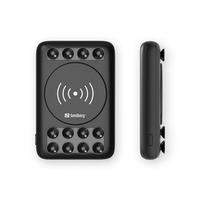 Sandberg 10000 Wireless 10W Powerbank - Zwart