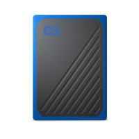 Sandisk My Passport Go - Zwart, Blauw