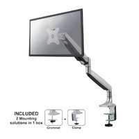 Newstar NM-D750 Monitorarm - Zilver