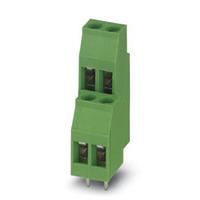 Phoenix Contact Bloc de jonction C.I. - MKKDS 3/ 3 Borniers électriques - Vert
