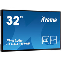 """Iiyama 31.5"""", 80.1cm, IPS LED, 1920 x 1080, 400 cd/m², DVI, VGA, HDMI x2 (v.1.4), DisplayPort, RS-232c, RJ45, ....."""