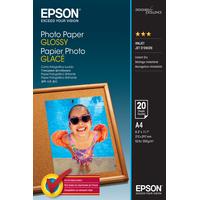 Epson Photo Paper Glossy - A4 - 20 Vellen Fotopapier - Wit