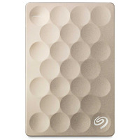 Seagate Backup Plus Ultra Slim 1TB Externe harde schijf - Goud
