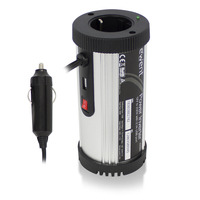 Ewent Convertisseur dalimentation 150W 12V à 230V avec port USB 2,1A Adaptateur de puissance & onduleur - Noir, .....