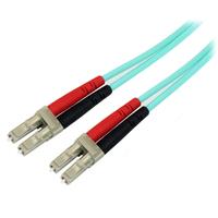 StarTech.com Câble / Jarretière fibre optique duplex multimode 50/125 OM3 de 10m - LC vers LC - LSZH - .....