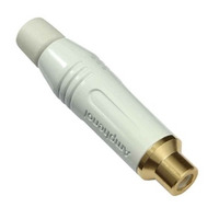 Amphenol ACJR-WHT Kabel connector - Wit