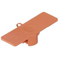 """Black Box Cable ID Tags - 5/8""""W x 2""""L, 100-Pack, Orange - Oranje"""