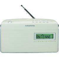 Grundig Music WS 7000 DAB+ Radio - Argent, Blanc