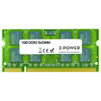 2-Power 1GB DDR2 800MHz SoDIMM Memory Mémoire RAM - Vert