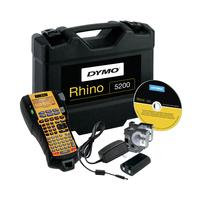 DYMO RHINO 5200 Kit - ABC Imprimante d'étiquette - Noir, Jaune