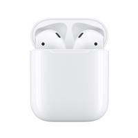 Apple AirPods (2nd generation) avec boîtier de charge Casque - Blanc